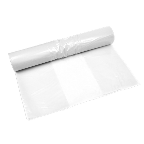 "6"" x 28"" 2 Mil Clear Poly bag 1000/cs 21 Lbs / case"