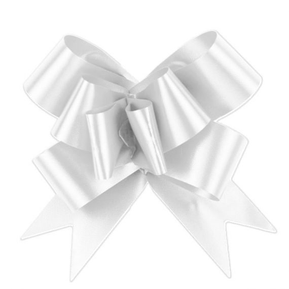 White Pull Bow A50050